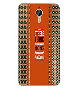 PrintDhaba Quote D-5839 Back Case Cover for LETV LE 1 PRO ULTRA (Multi-Coloured)