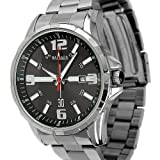 ESS Men's Silver Stainless Steels Fashion Classic Date Display Quartz Watch WM165