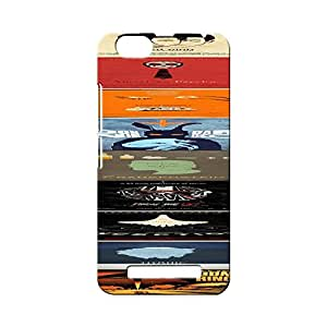 G-STAR Designer Printed Back case cover for Lenovo Vibe C ( A2020) - G6754