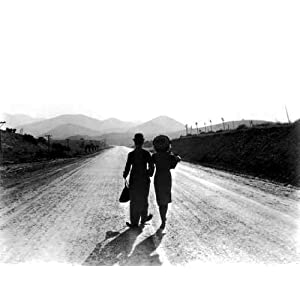 A3 Glossy Gloss photo print classic film star Chaplin Charlie Modern Times 02 JT