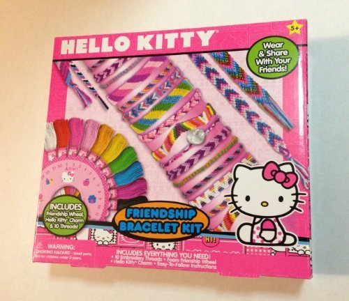 Hello Kitty Friendship Bracelet Kit - 1