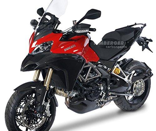 Carter de Chaine Ducati Multistrada 1200 10-14 Carbone Ilmberger