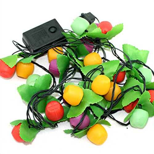 Spritech(TM) String lights Fairy LEDs Colorful Fruit 3.3m 28LEDs Xmas Colorama Christmas Wedding Noel Patio Party Starry Twinkle Lampion (String Lights Fruit compare prices)