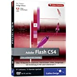 "Adobe Flash CS4 - Das umfassende Video-Training auf DVDvon ""Galileo Press"""