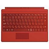 マイクロソフト Surface 3 Type Cover ブライトレッド