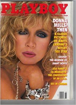 PLAYBOY MAGAZINE NOVEMBER 1989 DONNA MILLS PICTORIAL 20