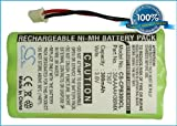BATTERY 3.6V For GP NTL D4000, DCP2132, ON AIR 2100, ON AIR 1250, DCP330 +FREE Power Bank (2600mAh)