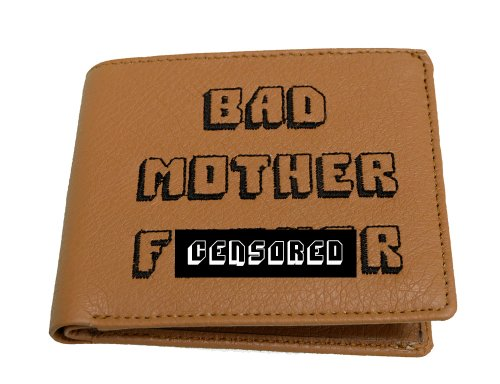 Bad Mofo Light Brown Wallet w/ Jules Id