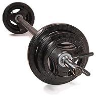 Cheap Studio Pump Set - Black Bar/Black Discs -image