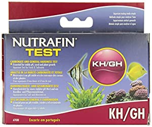 Nutrafin A7830 Carbonate and General Hardness Test Kit for Aquarium