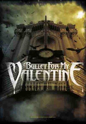 Empire Merchandising GmbH Bullet For my Valentine-Poster Scream Aim Fire, motivo bandiera