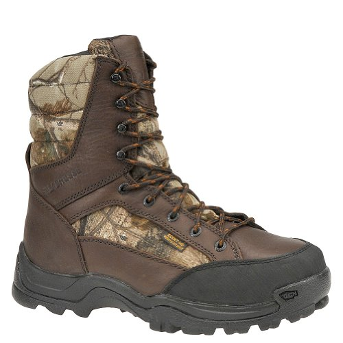 LaCrosse 281600 Men's Big Country 8-inch Safety Toe Boot Realtree Ap 10 M US