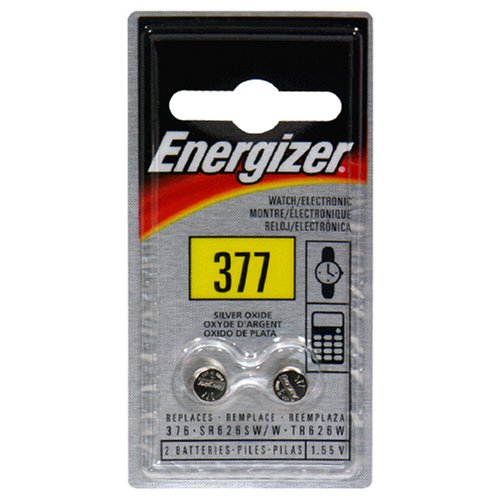 Energizer Silver Oxide Blister Pack Watch/Electronic Batteries, 2 pack