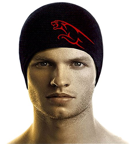Bikers Gear Anti-Pollution Skull Cap (Black, Free Size)