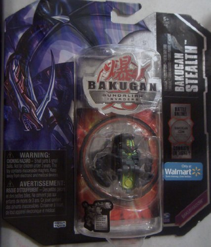 Bakugan B2 Stealth Exclusive Single Figure Darkon [Black] Bakushadow Darkon [Black] Coredem - 1
