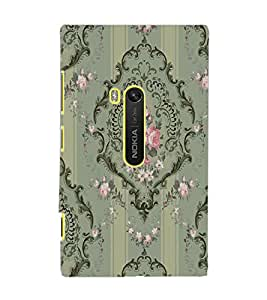 PrintDhaba Pattern D-2260 Back Case Cover for NOKIA LUMIA 920 (Multi-Coloured)