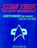 """""""Star Trek TNG"""" Sketchbook: The Movies"""