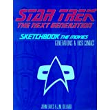 "Star Trek the Next Generation: Sketchbook the Movies : Generations & First Contactvon ""John Eaves"""