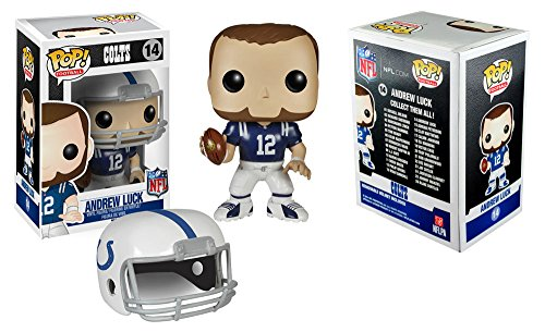 Funko Pop! Sports Indianapolis Colts Andrew Luck #14 Officially Licensed In-Box NFL Action Figure