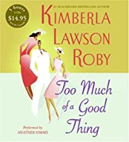 Too Much of a Good Thing CD Low Price (The Reverend Curtis Black Series)