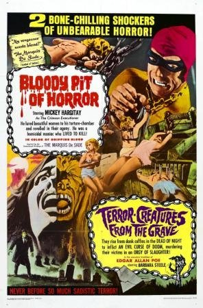 Bloody Pit Movie Poster 28 cm x43 cm 11 inx17in