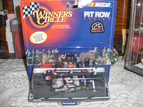 Dale Earnhardt #3 Goodwrench 25th Anniversary 2 Tire Stop Pit Row Series 1:64 scale 1998 Winners Circle Diecast