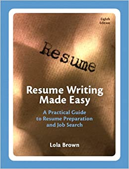 resume writing made easy a practical guide to resume With resume writing made easy