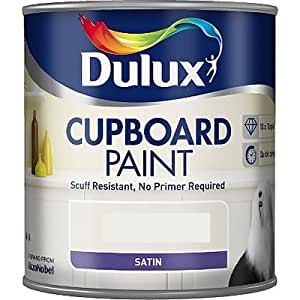 dulux retail cupboard paint pure brilliant white 600ml. Black Bedroom Furniture Sets. Home Design Ideas