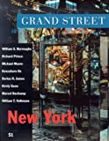 Grand Street 51: New York (Winter 1995) (188549002X) by Hopps, Walter