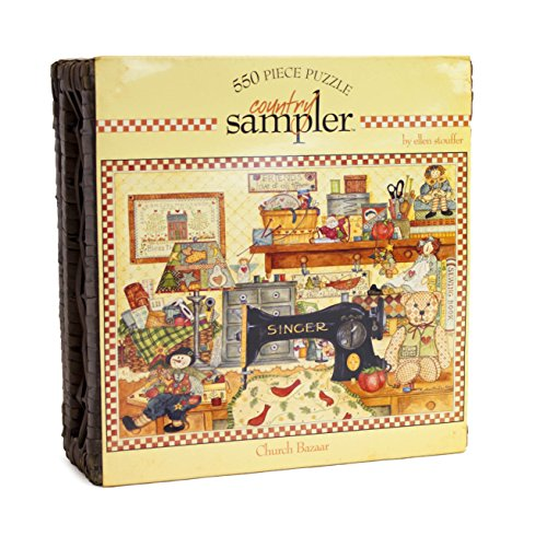 Ceaco 550 Piece Country Sampler Church Bazaar Puzzle