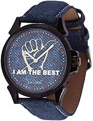 Asgard Analog Blue Dial Watch For Men- IMB