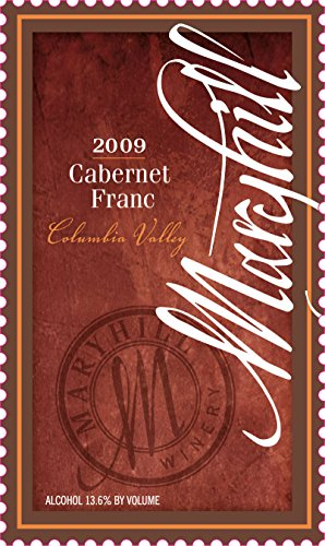 2009 Maryhill Winery Cabernet Franc 750 Ml