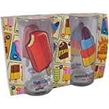Set of 2 Walls Ice Cream Tumblers/ Highball Glasses