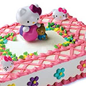 Hello Kitty Cake Decorating Kit : Amazon.com: Hello Kitty Bubble Blower Cake Decorating Kit: Kitchen & Dining