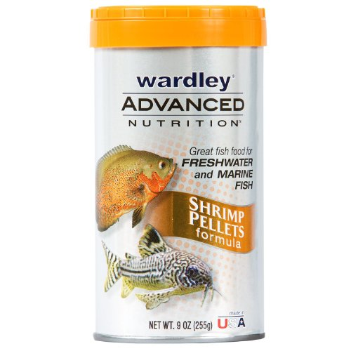 Hartz Wardley Advanced Nutrition Shrimp Pellet, 9-Ounce