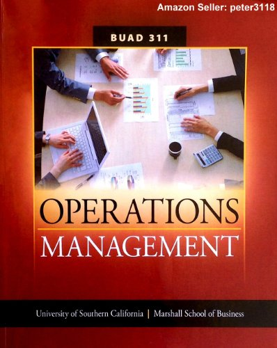 Operations Management top 10 usa colleges
