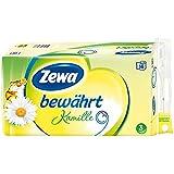 "Zewa Toilettenpapier ""Bewährt Kamille"" 3-lagig, 16 x 150 Blatt (16 Rollen)"