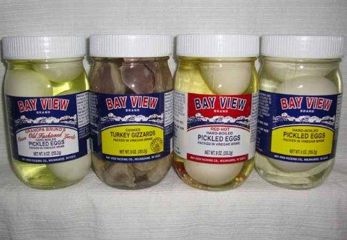 Pickled Poultry Sampler Gift - 4 Jars