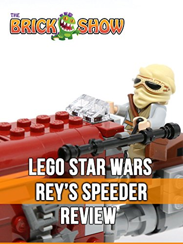 LEGO Star Wars The Force Awakens Rey's Speeder Review (75099)