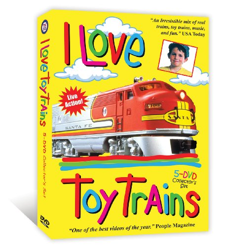 I Love Toy Trains 5-DVD Boxed Set