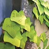 Yunko Set of 120 Tree Leaf Post-it Sticky Notes [2 Sheets of 60 Stickers]