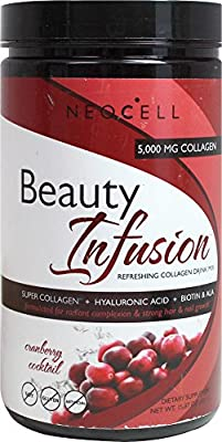 Neocell Laboratories - Beauty Infusion Refreshing Collagen Drink Mix Cranberry Cocktail 5000 mg. - 15.87 oz.