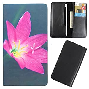 DooDa - For Micromax Bolt A082 PU Leather Designer Fashionable Fancy Case Cover Pouch With Card & Cash Slots & Smooth Inner Velvet