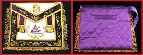 York Rite Past Grand Illustrious Master Freemason Masonic Apron (York Rite Apron compare prices)