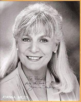 Joanna Miles-Signed Photo-29 A at Amazon's Entertainment