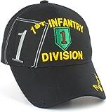 1st Infantry Division Emblem Shadow Adult Cap [Adjustable - Black]