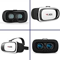Amerzam 3D VR Virtual Reality Headset 3D Glasses VR BOX for iPhone6/SamsungGalaxy/ ios Android smartphone(white) by Amerzam