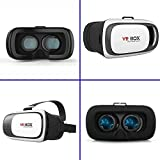 Amerzam 3D VR Virtual Reality Headset 3D Glasses VR BOX for iPhone6/SamsungGalaxy/ ios Android smartphone(white)