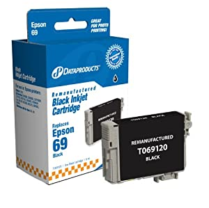 Dataproducts DPC69120 Remanufactured Ink Cartridge Replacement for Epson T069120 (Black)