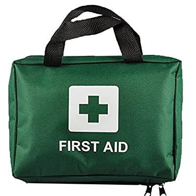 Tactical First Aid Kit: 99pcs Supreme First Aid Kit Bag - Inc. Eye Wash, Crepe, Ice Pack, Thermal Blanket - Home, Office, Vehicle, Workplace, Travel, Camping (GREEN) from Ezy-Aid®